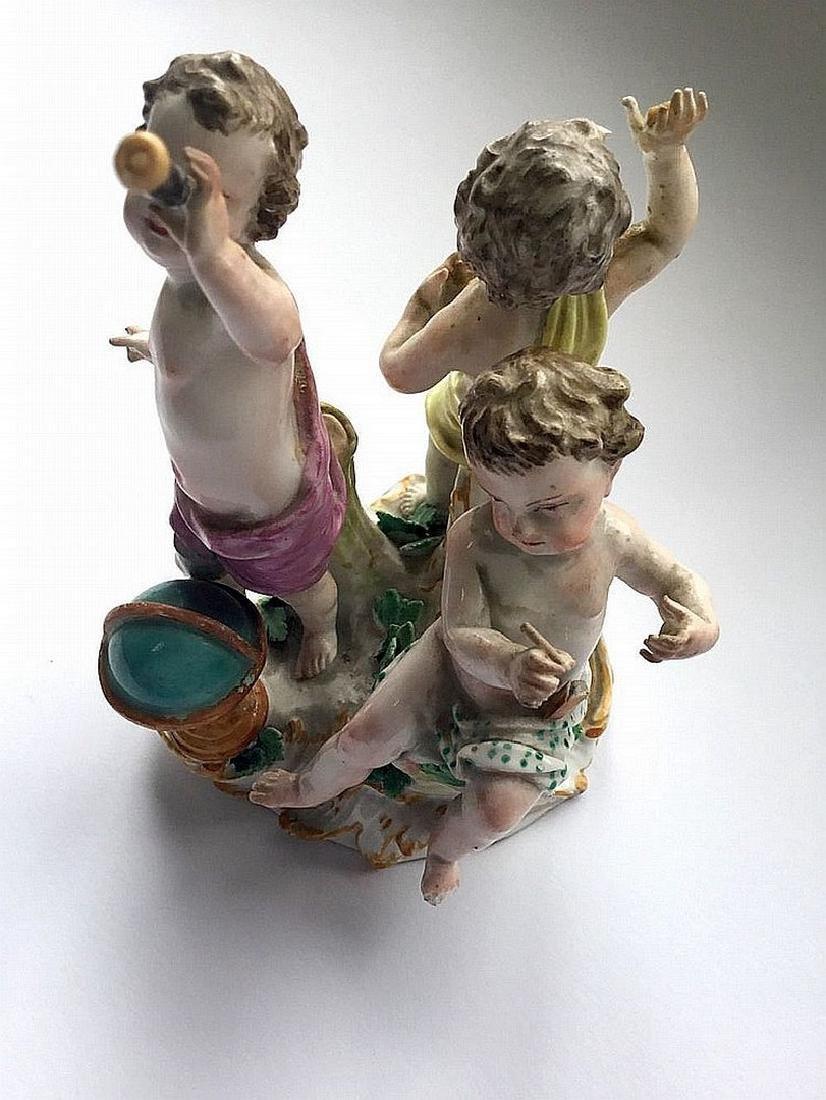 Meissen figure group - 4