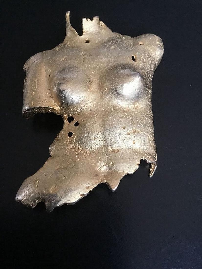 Unique Brooch -a nude Woman 's Torso - Venus signed - 2