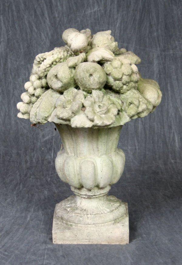 4: Cast Concrete Garden Urn