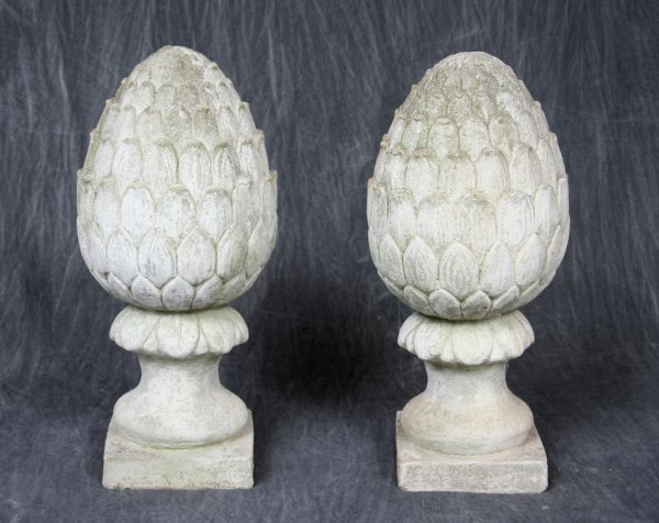 10: Large Pineapple Garden Ornaments