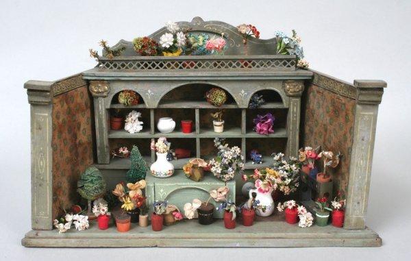 13: Miniature French Florist Shop Model