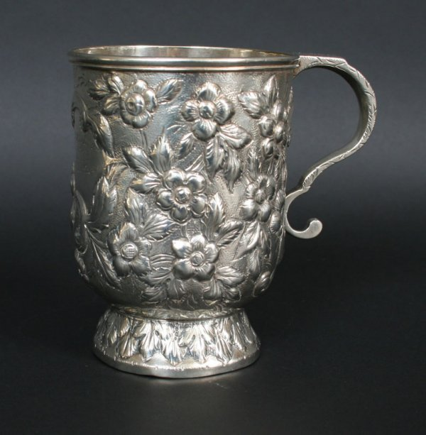 15: Antique Kirk Sterling Baby Cup