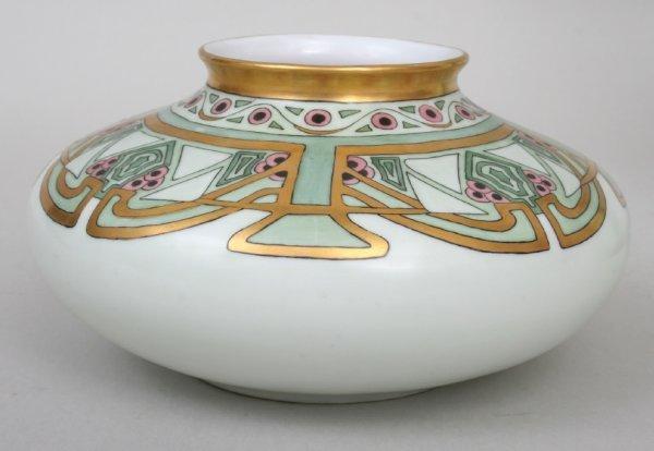 20: Bohemian Art Nouveau Vase