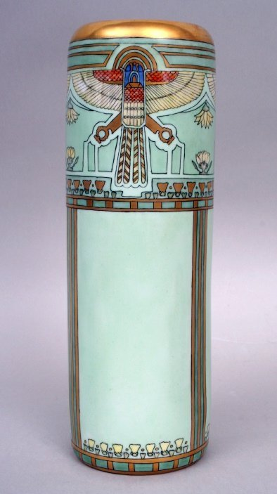 21: Egyptian Revival Style Vase