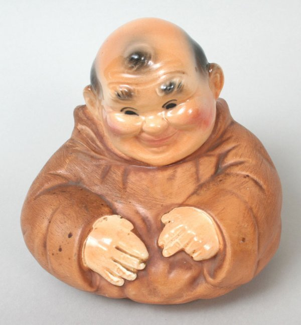 "305: ""Thou Shalt Not Steal"" Monk Cookie Jar - 5"