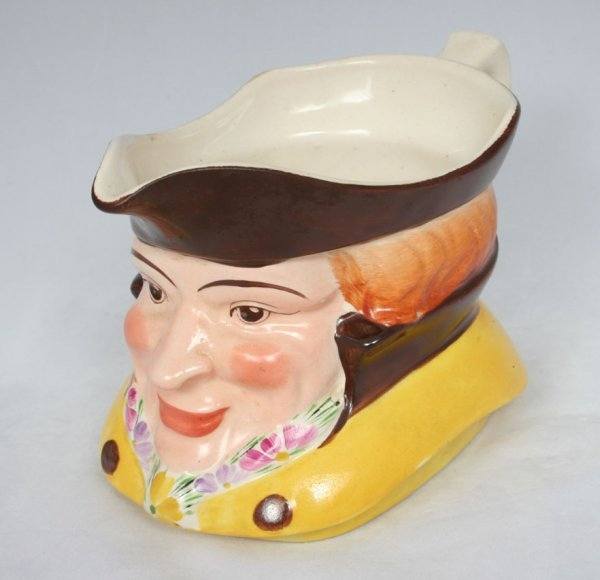 15: Staffordshire Character Jug