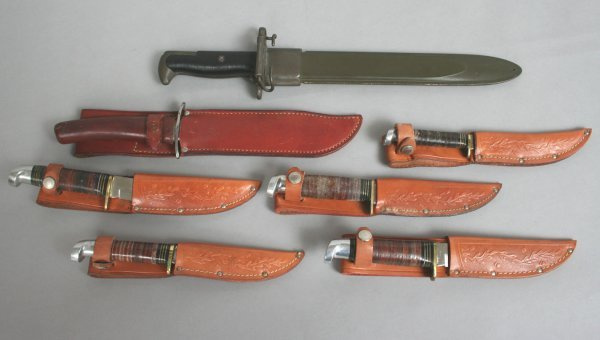 3A: Group of Vintage Knives