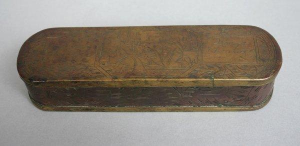 10: 18th c. Dutch Christening Box
