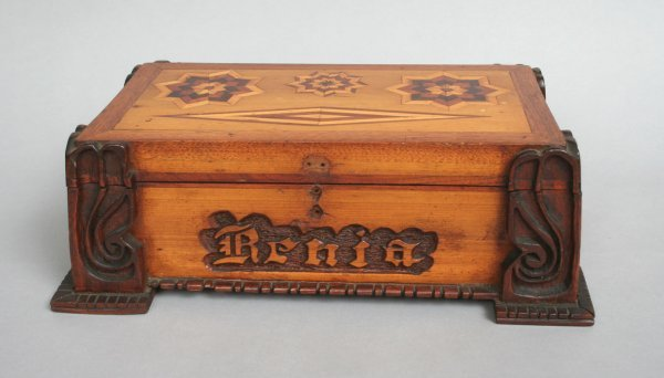15: Marquetry Jewel or Sewing Box