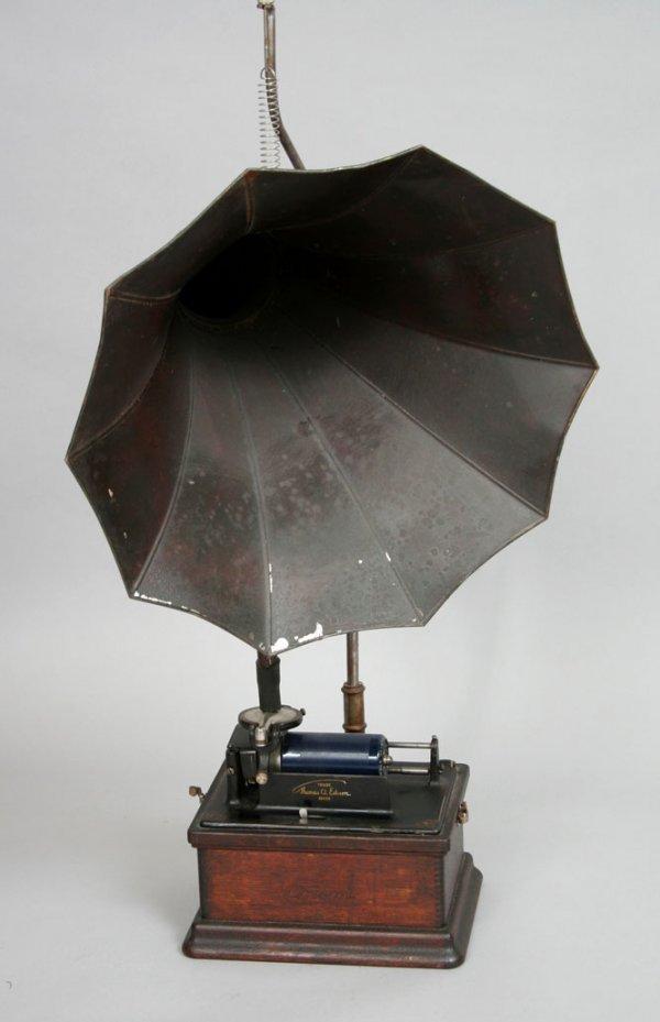 20: Edison Fireside Phonograph