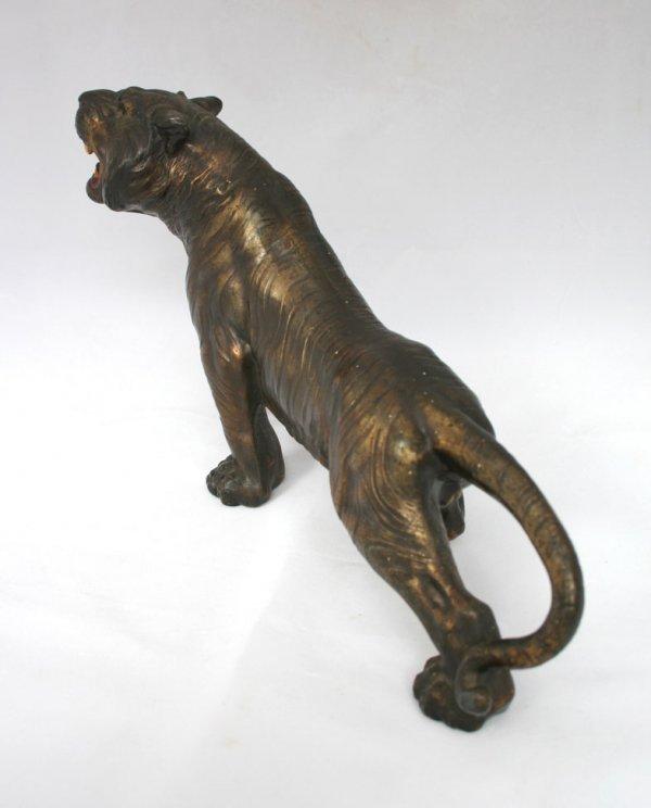 26: Spelter Tiger Figure - 3