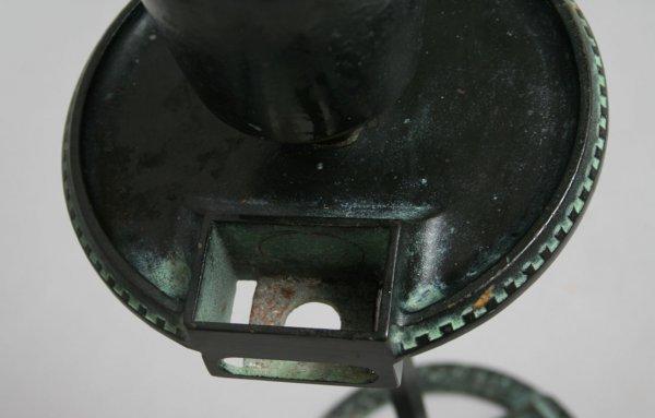 64: Cast Iron Dragon Smoke Stand - 7