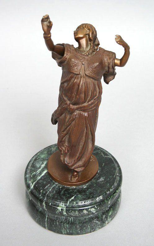 77: Carl Kauba Erotic Bronze Dancer