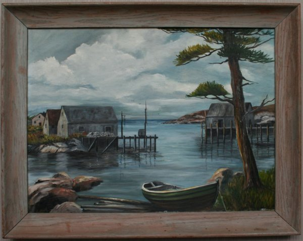 21: Coastal Maine Landscape Painting