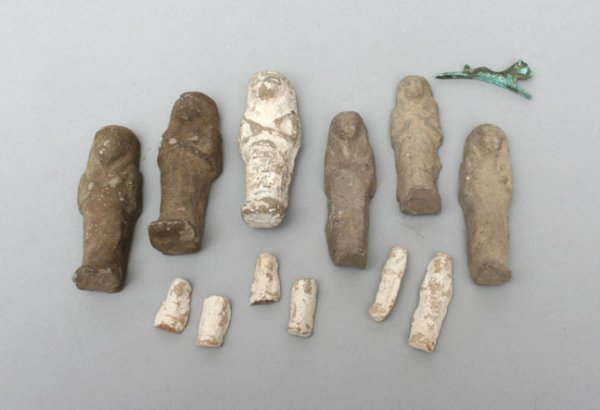 24: Group of Egyptian Mortuary Figures