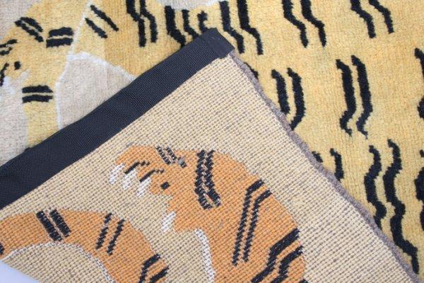 273: Vintage Tibetan Tiger Rug - 4