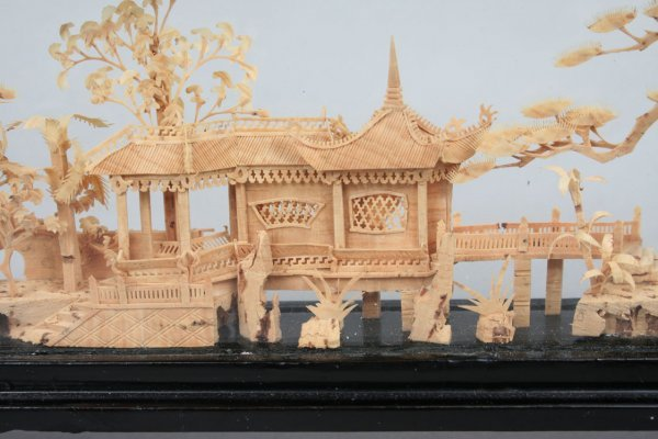 353: Chinese Miniature Wood Carving - 2