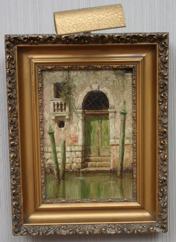 7: Burr H. Nicholls Venetian Painting