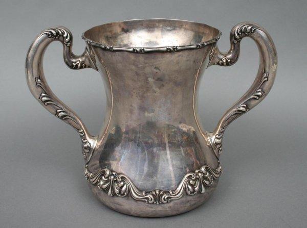 11: Sterling Loving Cup Trophy