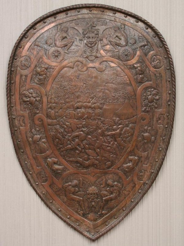 17: Renaissance Revival Style Shield