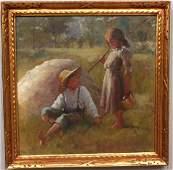 106: Adam Emory Albright Oil Painting