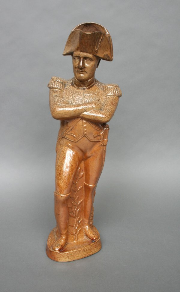 1: Salt glazed Napoleonic Character Jug