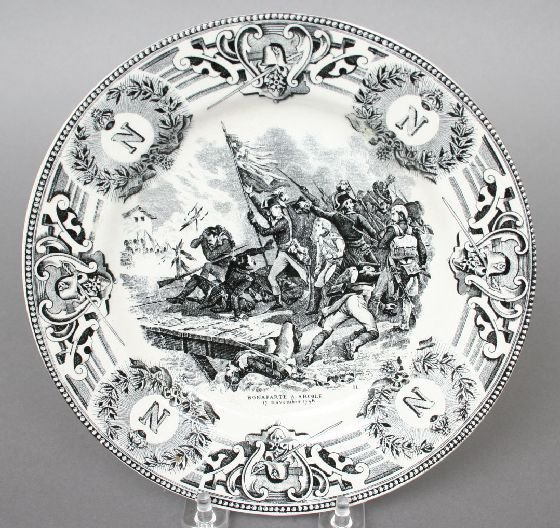 4A: Boch Freres Napoleonic Plate
