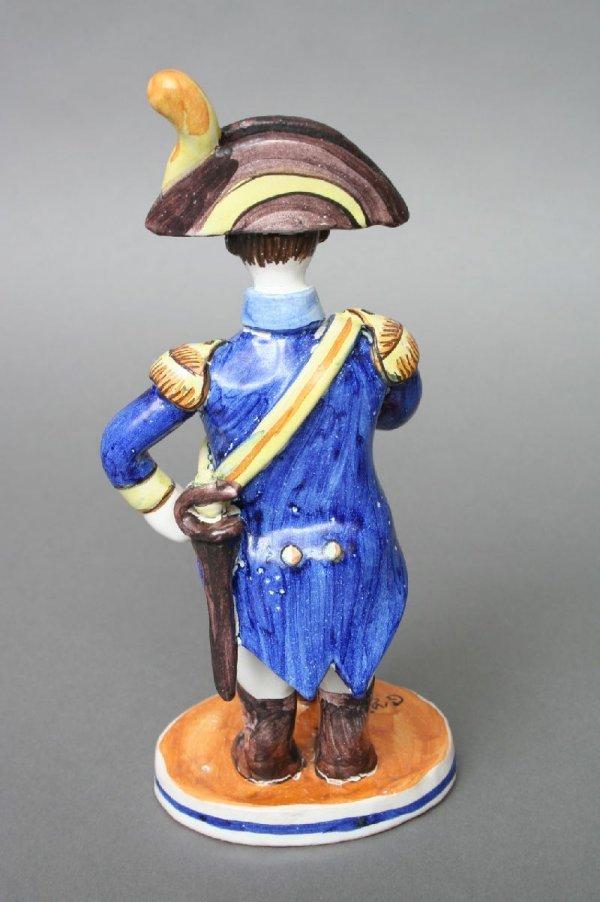 6: French Pottery Napoleonic Militaria Figure - 2