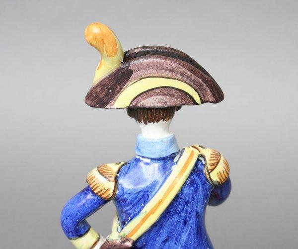 6: French Pottery Napoleonic Militaria Figure - 3