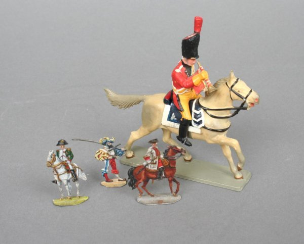 7: Group of Model or Toy Soldiers