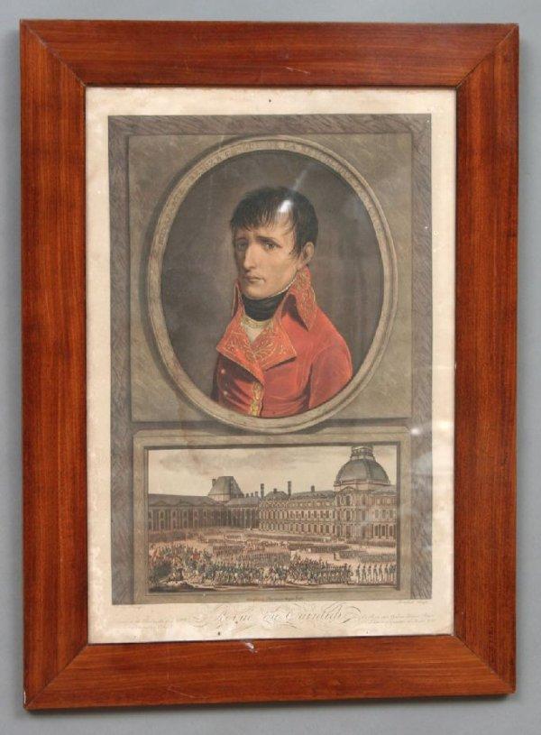 15: First Consul Bonaparte Engraving 19thc.