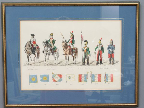 24: French Militaria Print