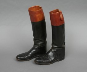 Pair Faulkner English Hunt Boots 8 1/2