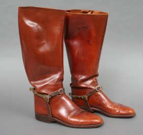 Pair James Moore Inc. Mens Riding Boots