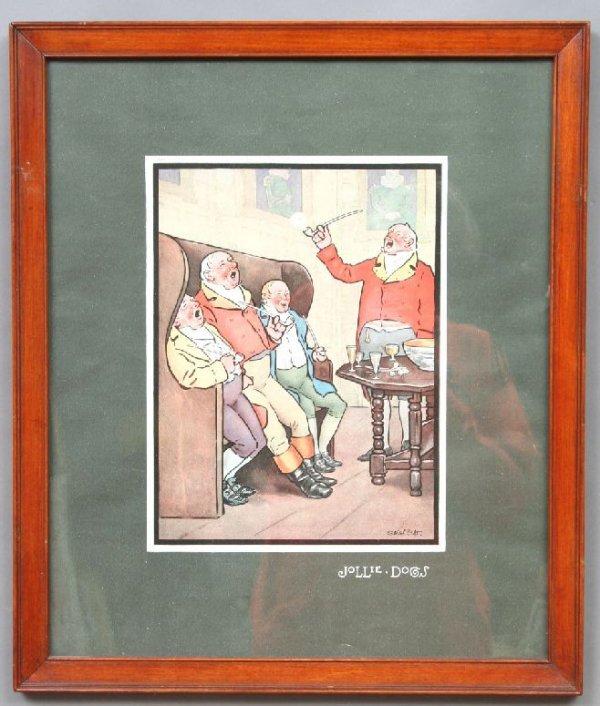 36: Raphael Tuck English Hunt Prints