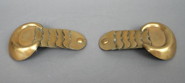 38A: Pair of Antique French Epaulettes
