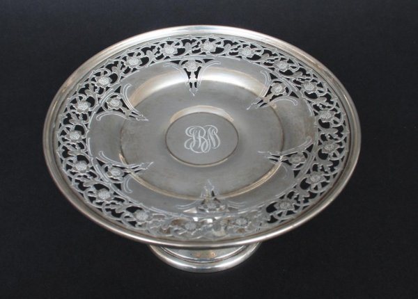 588: Small Whiting Sterling Silver Compote