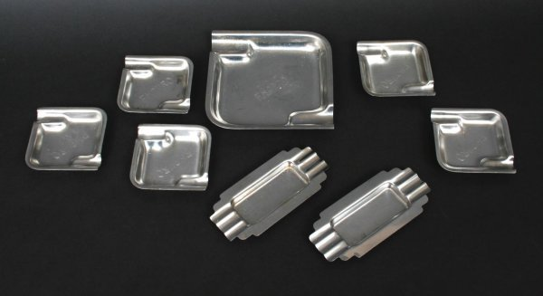 595: Republic Steel & Enduro Ashtrays