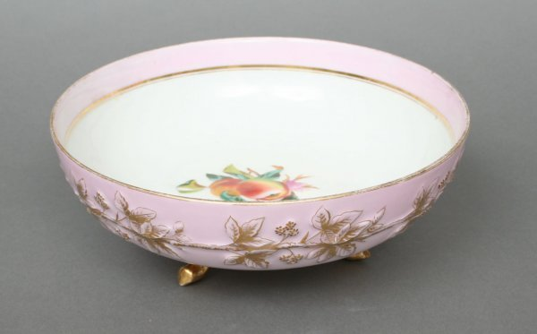 605: Victorian Porcelain Fruit Bowl