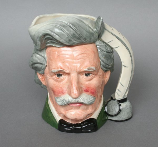 607: Royal Doulton Mark Twain Jug D6059