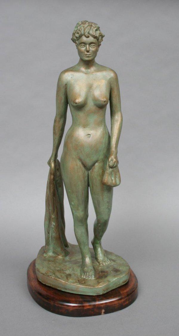 643: Modern Nude Female Sculpture