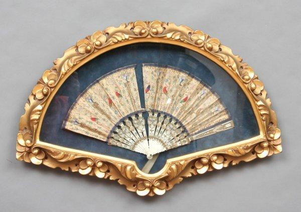746: 19th Century Decorative Fan