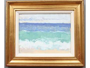 334: Sarah Goodwin Cornwall Painting