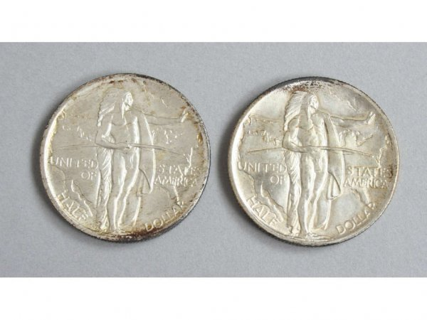 3: 1936 Oregon Trail P,S Commemorative Half Dollars