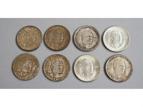 7: Booker T. Washington Commemorative Half Dollars