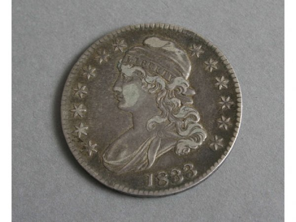 10: 1833 Liberty Bust Half Dollar