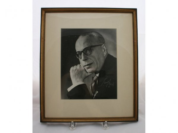 14: George Szell Cleveland Orchestra Autograph