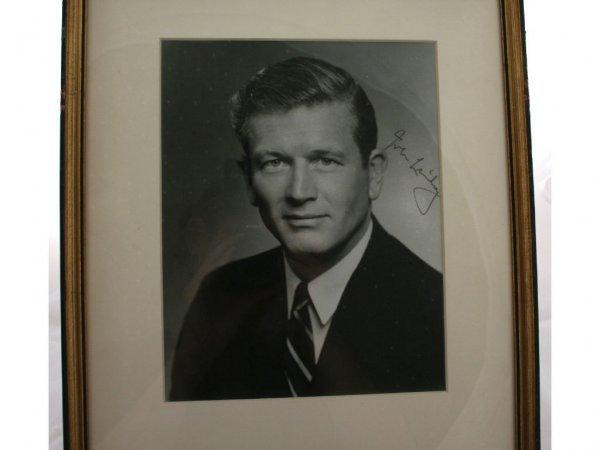 17: John Lindsay Autograph