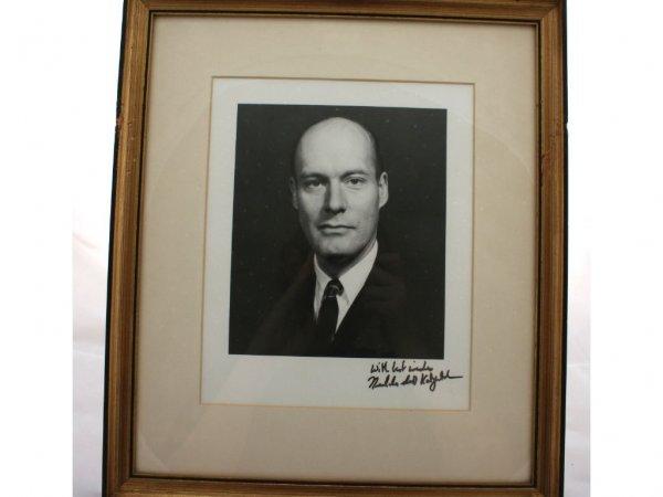 21: Nicholas Katzenbach Political Autograph