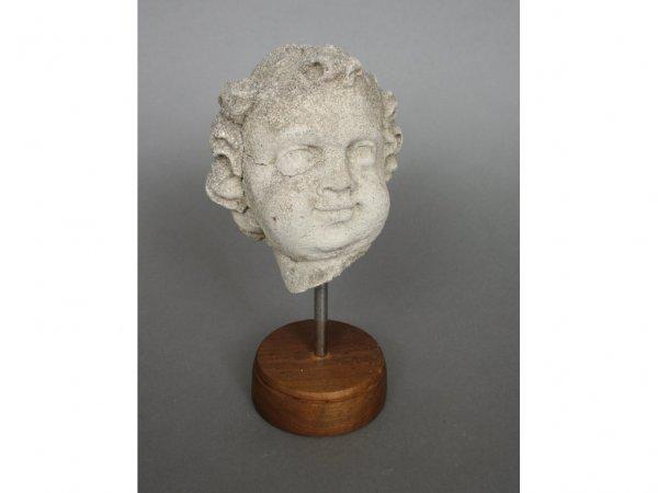 122: Bust of a Boy Garden Ornament